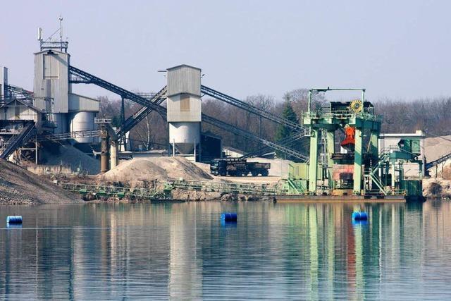 Wird der Niederrimsinger Baggersee vergrößert?