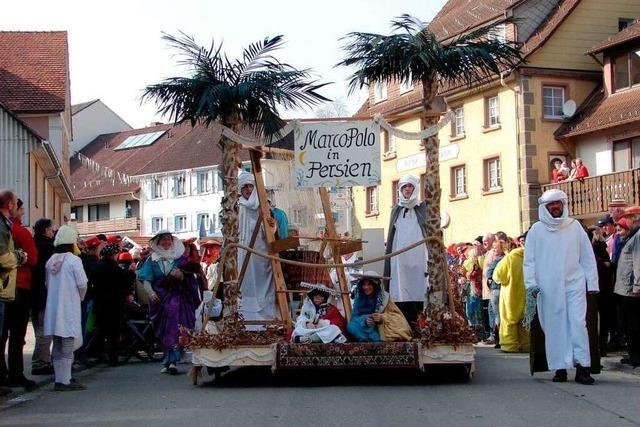 Fotos: Fasnetumzug in Unadingen