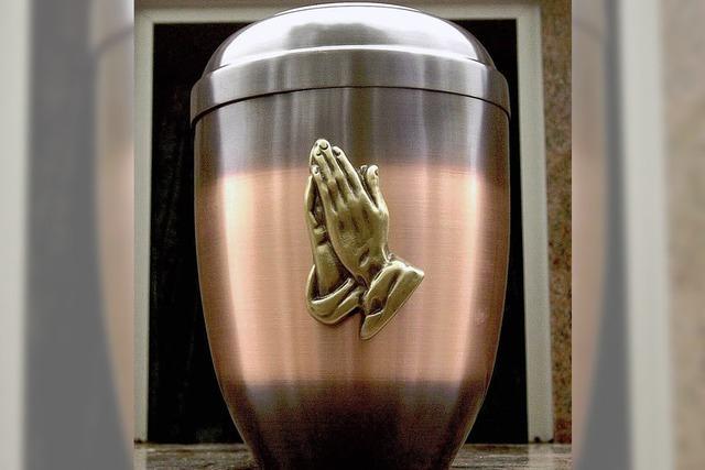 Der Bedarf an Urnengräbern steigt