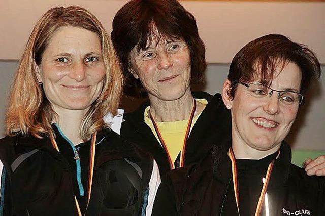 Zwei Goldmedaillen geholt