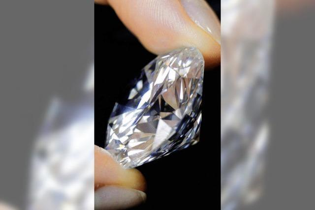 Der geschrumpfte Diamant