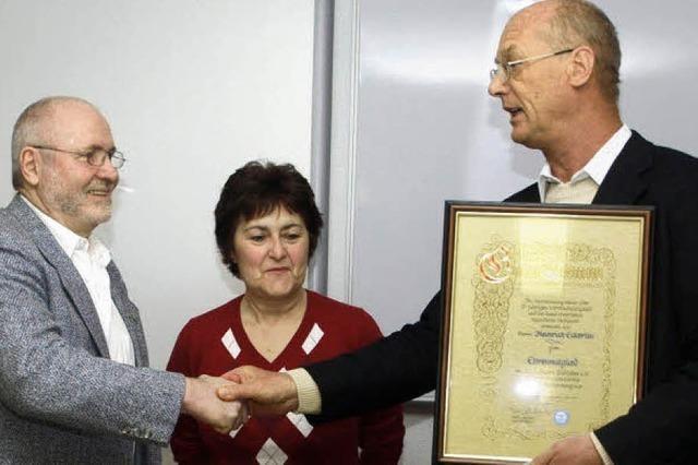 Eckerlin ist Ehrenmitglied