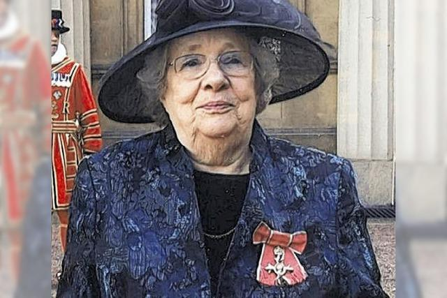 Verdienstorden für ehemalige Bürgermeisterin