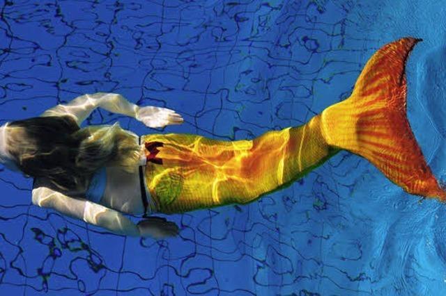 Meerjungfrauen schwimmen besser