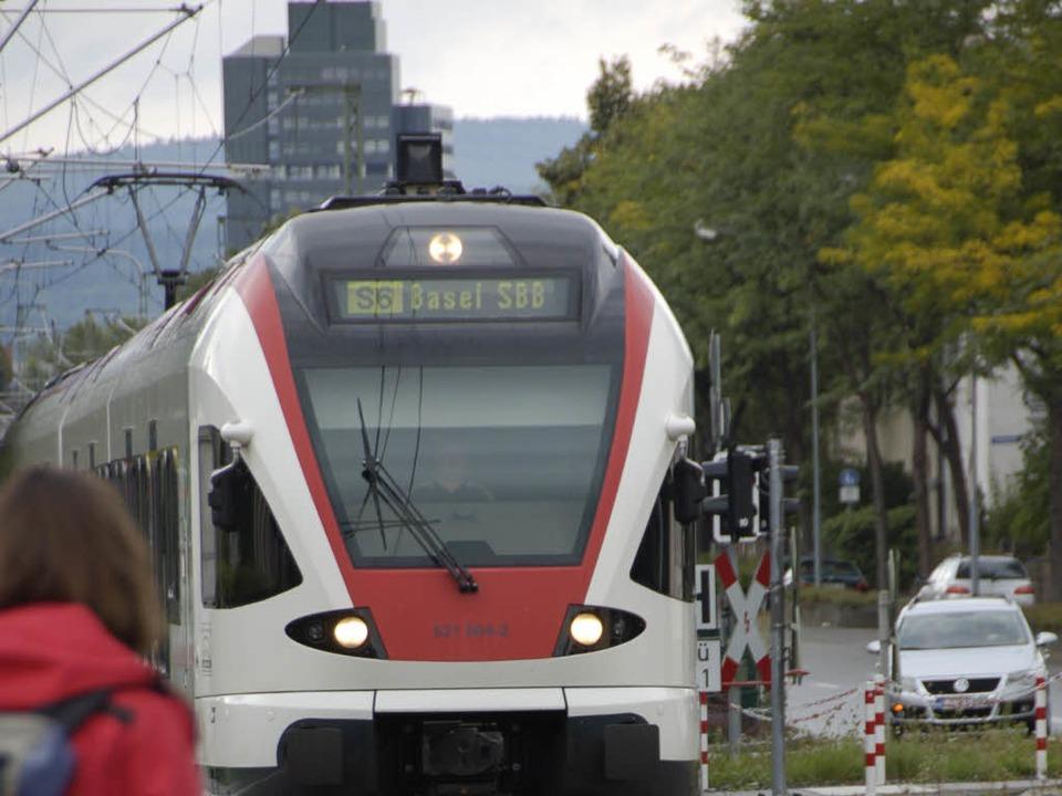 Die Wiesentalbahn fuhr bislang nach Plan.   | Foto: Gramespacher