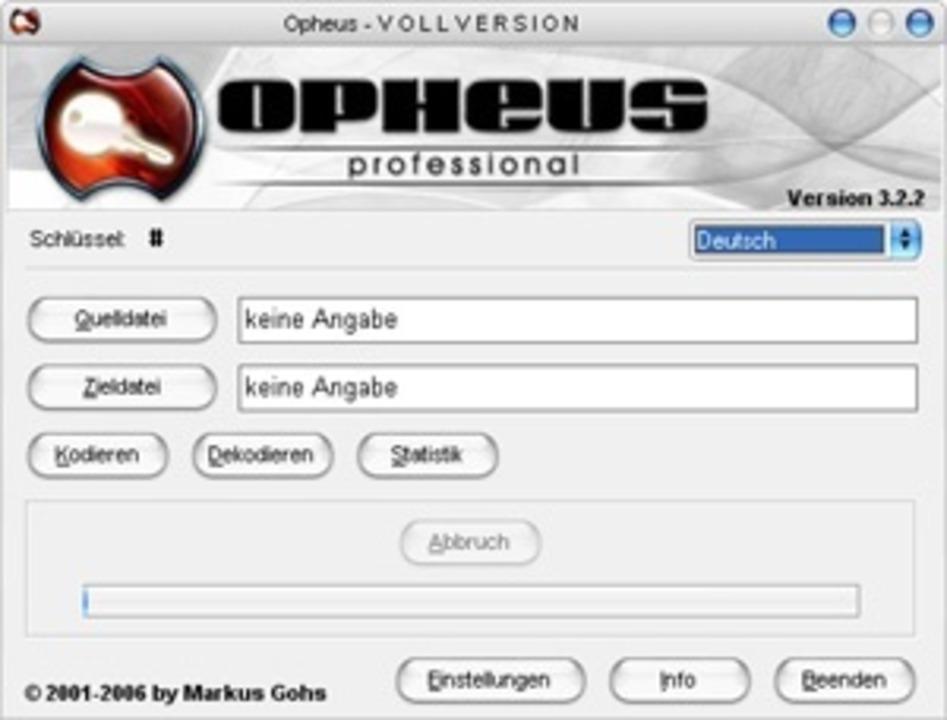 Opheus - Mit Opheus verschlüsseln Sie ...u können.  Download: Opheus </a>