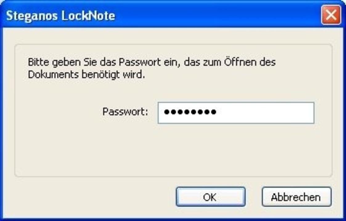 Steganos LockNote - Das kostenlose Pro...Download: Steganos LockNote </a>