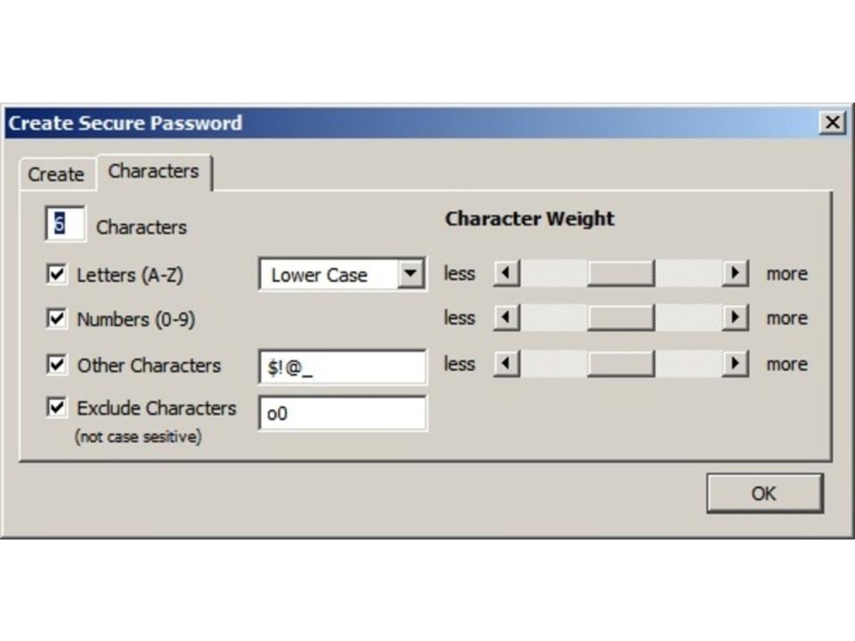 Secure Password Generator - Die meiste...Erweiterung Secure Password Generator.