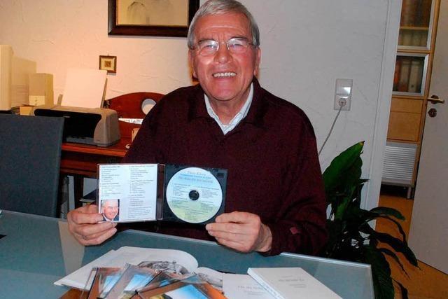 Heimatdichter Theo Klaus veröffentlicht eine CD