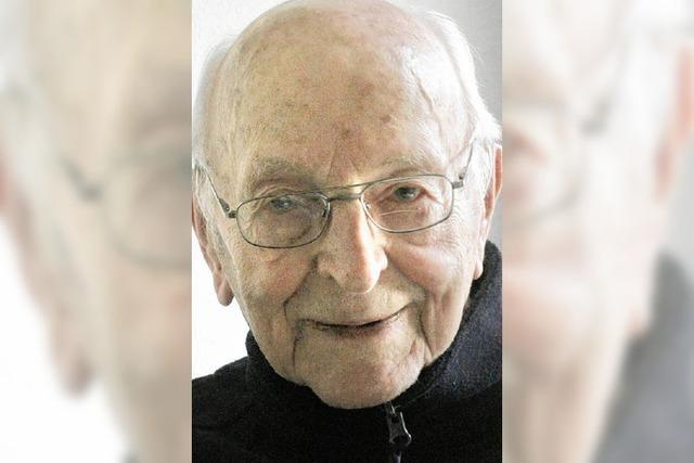 Zum 75. Priesterjubiläum kommt Kurt Erhart nach Wehr