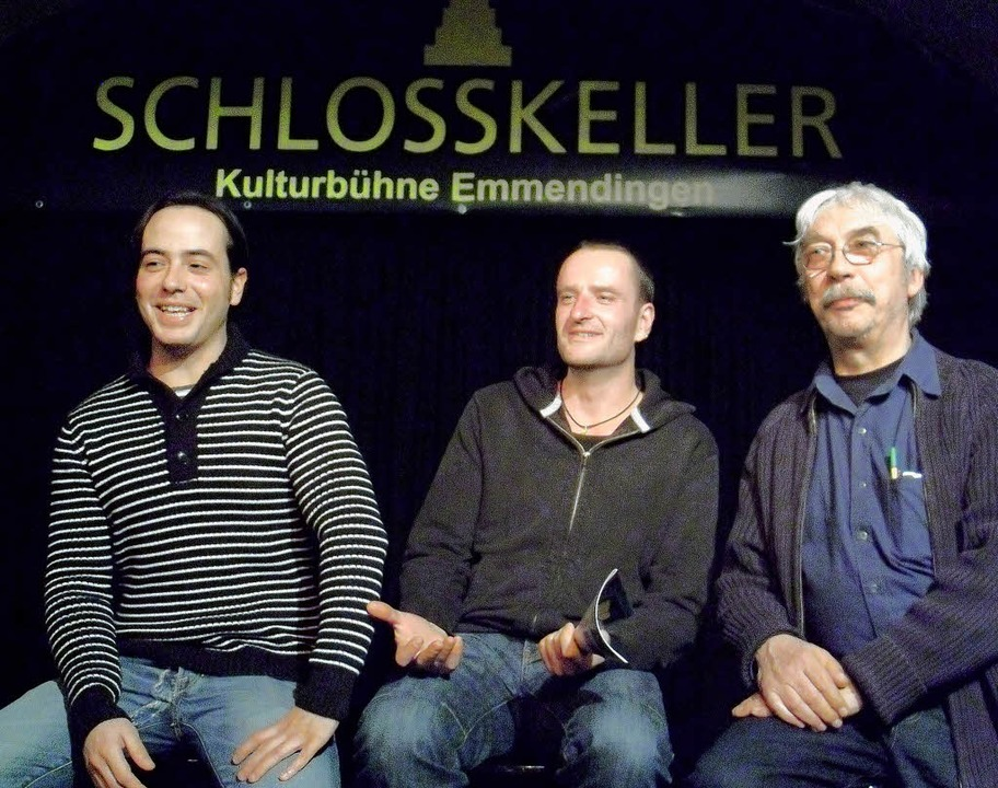 Abian Oberle, Jens Tischer und Ulf Fie...orstandsteam des Schlosskellervereins.  | Foto: Privat