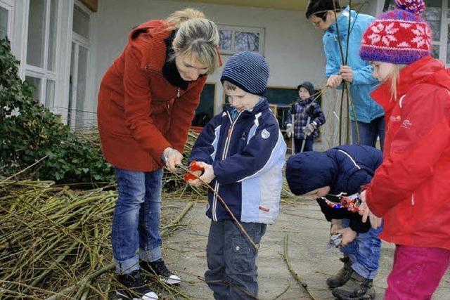 Die Kinder sollen die Natur erleben