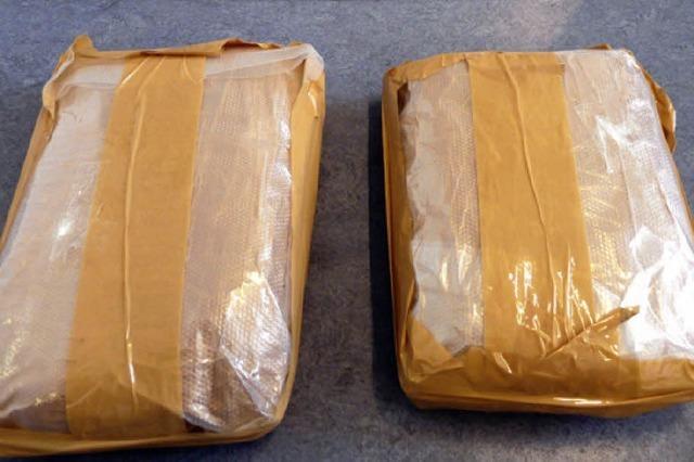 Großer Fund: Kokain im Wert von 200 000 Euro