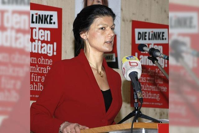 """Sahra Wagenknecht: """"Zehn Euro sind überfällig"""""""