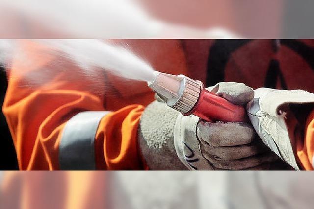 Wie viele Liter sind im Feuerwehrtank?