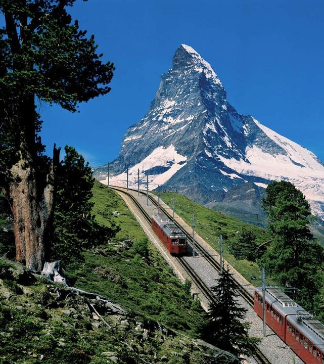 Den Alemannen verdankt das Matterhorn seinen Spitzennamen.   | Foto: dpa