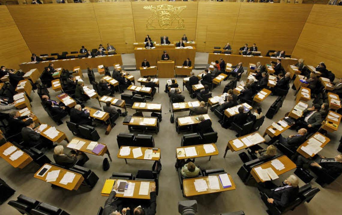 Nicht immer gerecht verteilt? Die Sitze im Stuttgarter Landtag  | Foto: dapd