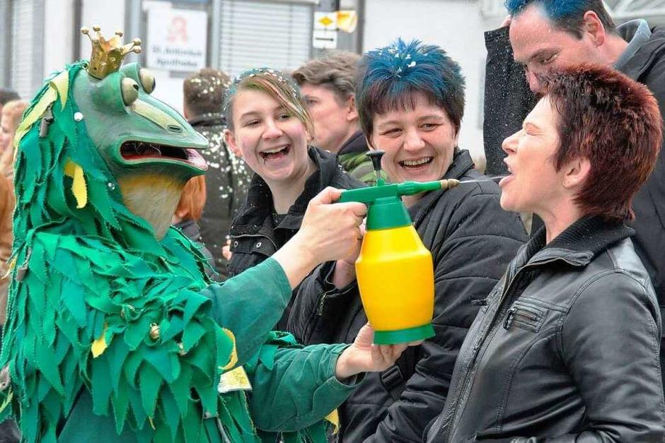 Impressionen vom Buurefasnachtsumzug in Hauingen (Foto: Barbara Ruda)