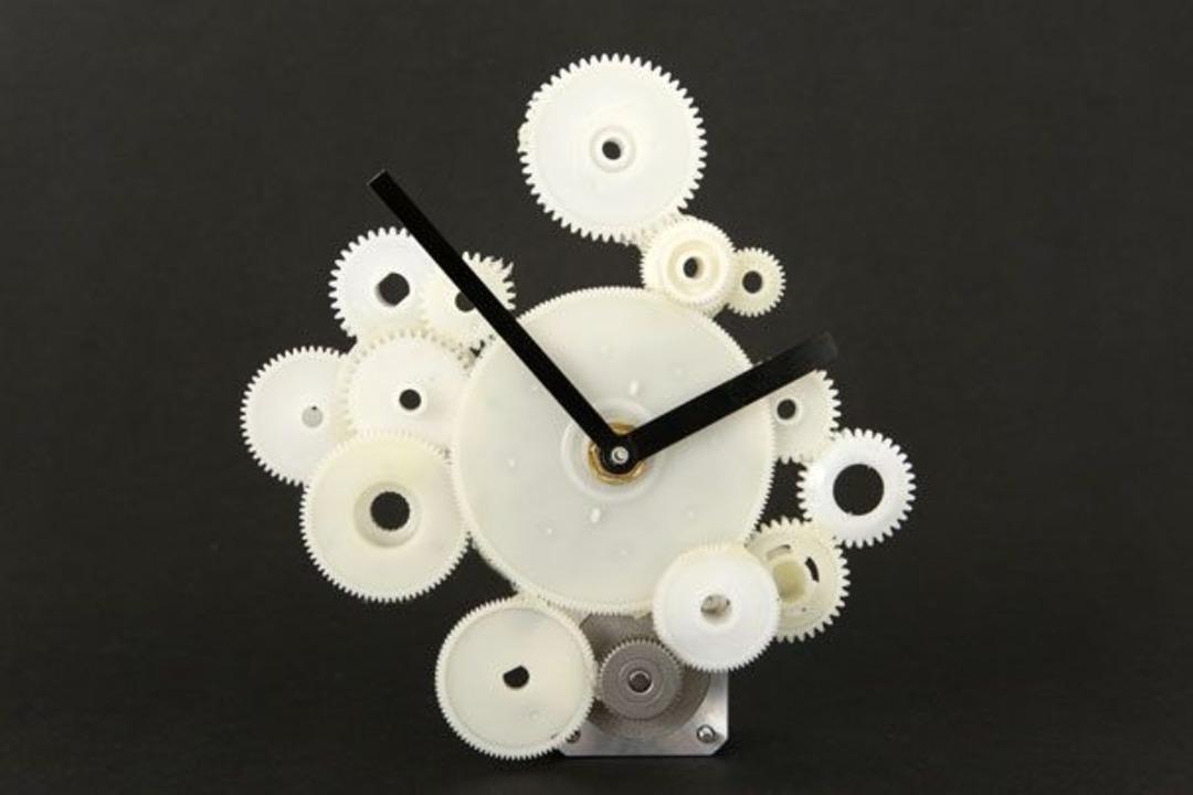 Drucker-Uhr    Foto: IDG