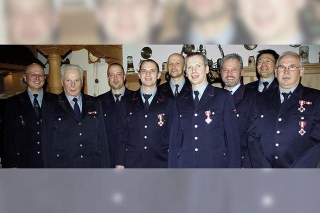 Jahrzehnte in der Feuerwehr aktiv