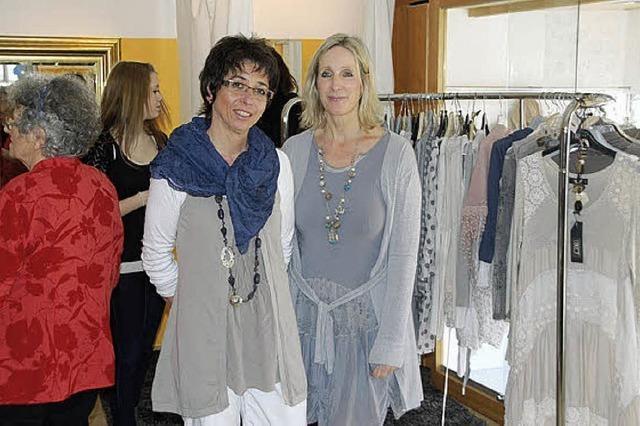 Boutique mit Mode aus Italien