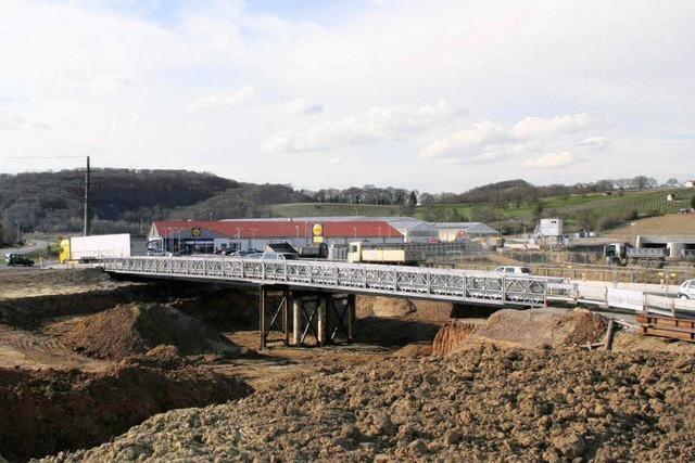 Baubrücken freigegeben