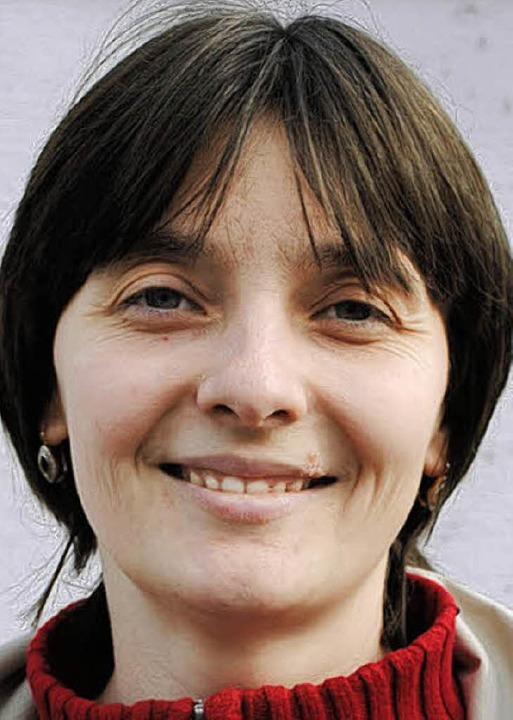 """Kristina Mast (33), Umkirch: """"Ic...ehr Geld für Strom zu bezahlen.""""    Foto: Marlene Wilkes"""