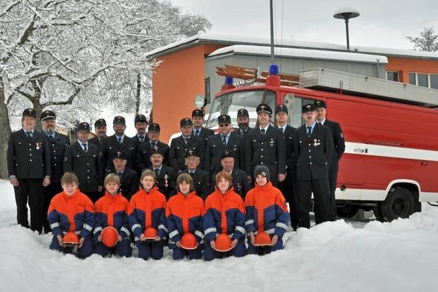 Feuerwehr Blumegg feiert Jubiläum