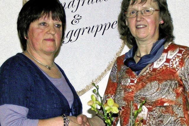 Inge Kunert bleibt an der Vereinsspitze