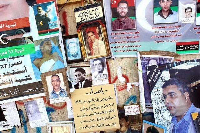 In Libyen droht Gaddafi mit Al-Qaida-Kooperation