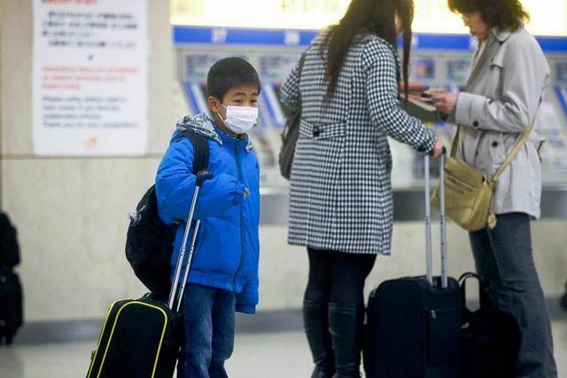 Freiburger haben Japan überstürzt verlassen