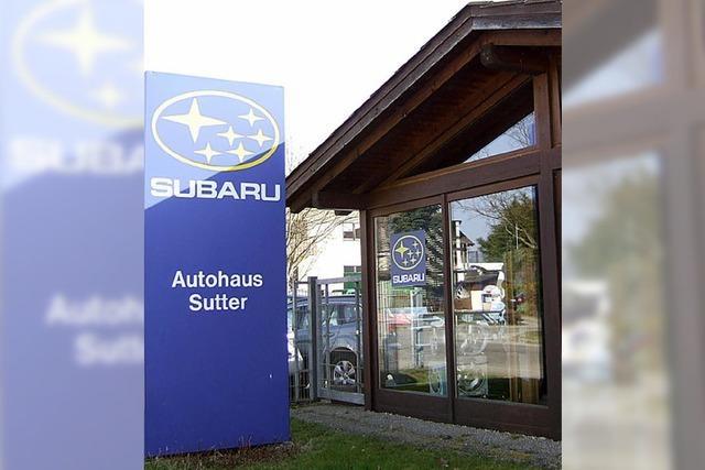 25 Jahre Autohaus Sutter