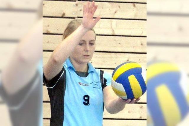 Volleyballerinnen im Tabellenkeller
