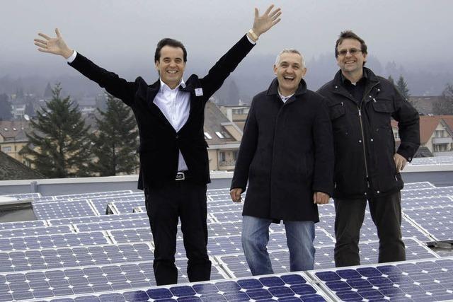 Der Herr der Solarzellen – Möbel-Beck macht Strom