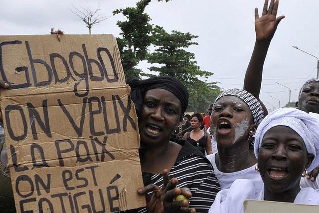 Die Elfenbeinküste auf dem Weg in den Bürgerkrieg