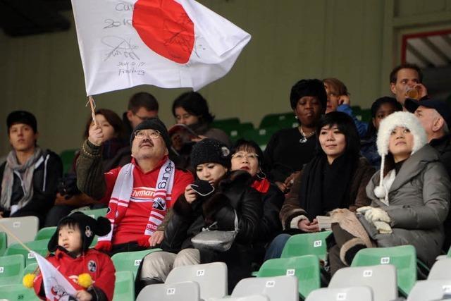 Erst Japan helfen, dann Punkte holen