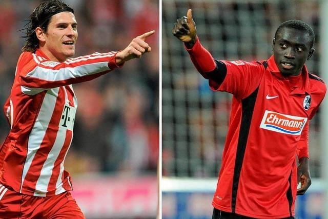 Das Duell der Top-Torjäger: Papiss Cissé vs. Mario Gomez