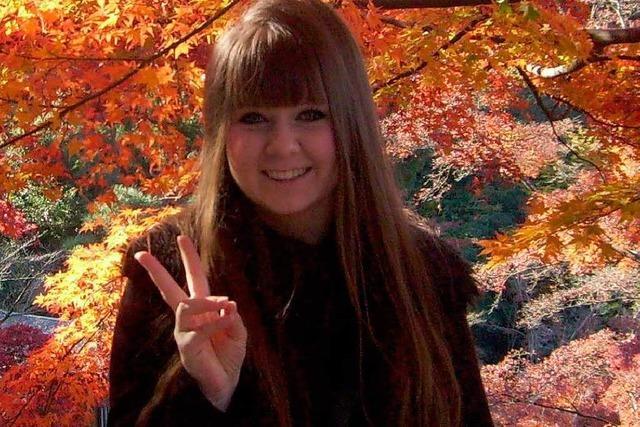 Helena Wiedermann erlebte das Erdbeben in Japan