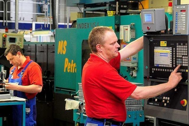 WST Präzisionstechnik in Löffingen gewinnt Jobmotor 2010