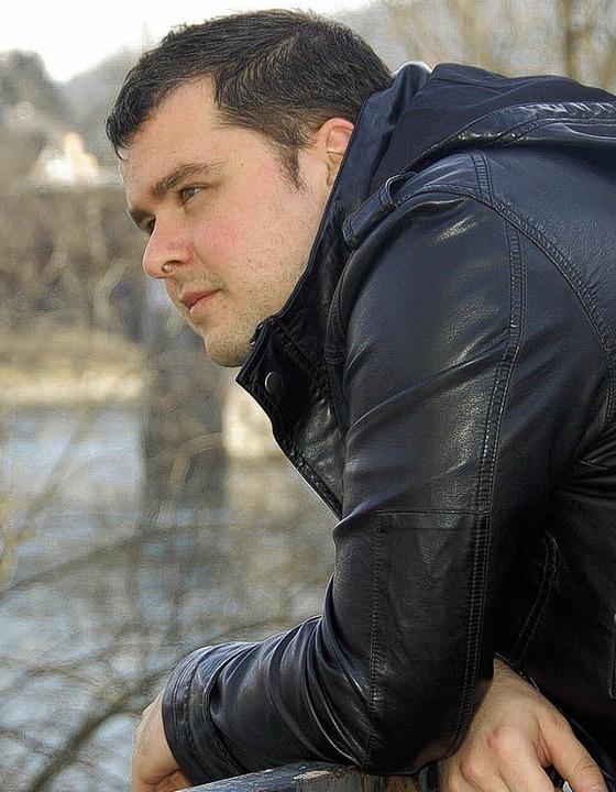 Thomas Ays kommt aus Bad Säckingen, ar...r Akzeptanz für Homosexuelle wünschen.  | Foto: Felicitas Rohrer