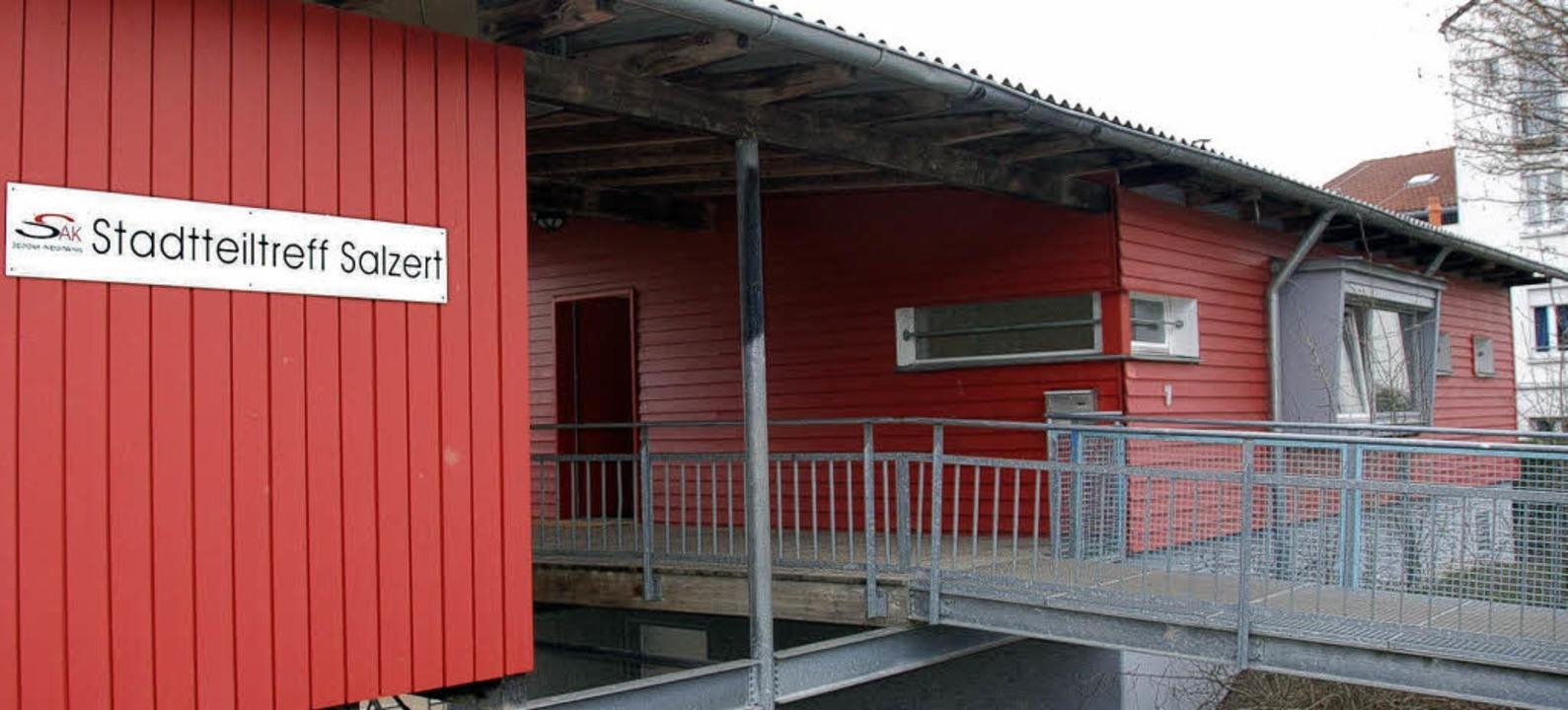 Der Stadtteiltreff auf dem Salzert, na...de gestern offiziell wieder eröffnet.   | Foto: Nikolaus Trenz