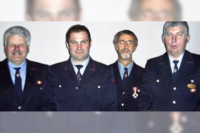 Ein ruhiges Jahr für die Feuerwehr aus Rütte