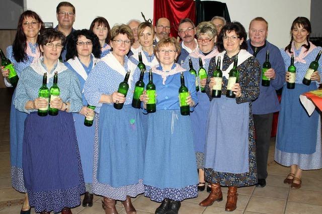 Trockener Wein, lieblicher Gesang