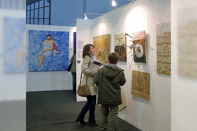 Die Lörracher Kunstmesse bietet anregende Vielfalt