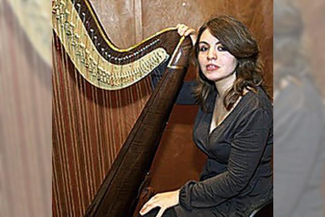 Sonderkonzert mit Harfenistin Pauline Haas