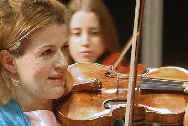 Anne-Sophie Mutter als Star des Abends