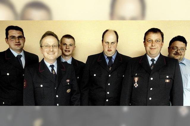 Feuerwehr Bergalingen mit neuem Kommandanten