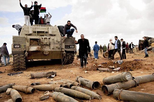Mit Sarkozys und Obamas Hilfe