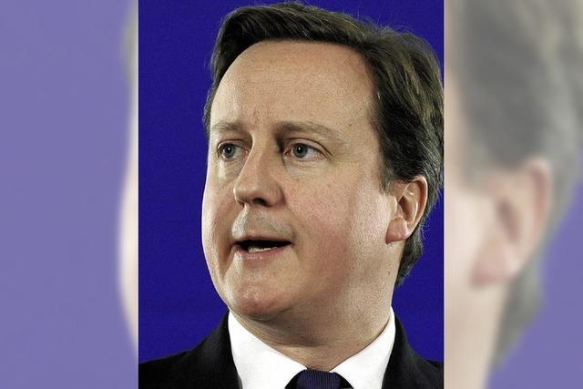 Der schnelle Wandel des britischen Premiers