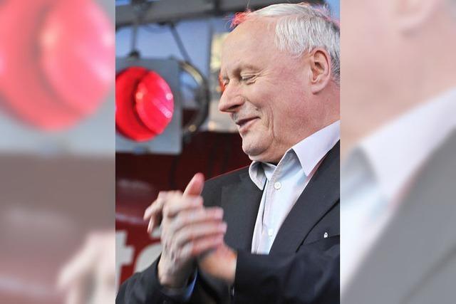 Lafontaines Auftritt in Freiburg